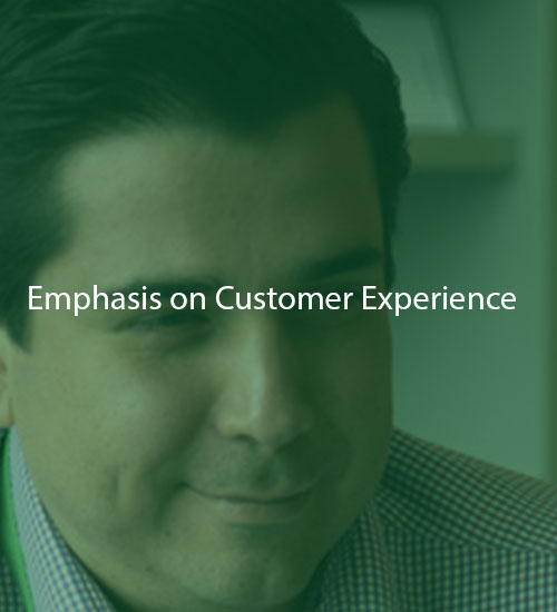 Emphasis on Customer Experience | POK