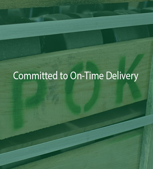 Committed to On-Time Delivery | POK